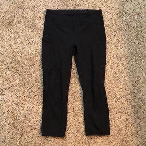 Lululemon running leggings size 6 black worn once